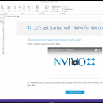 Importing with NVivo 12